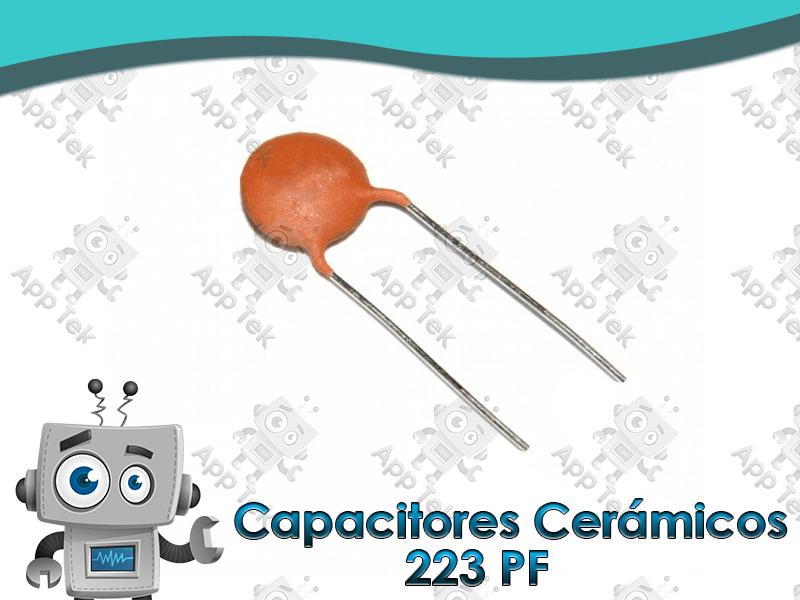 Capacitores Cer 225 Micos De Disco 0 000223 Microfaradio 181 F